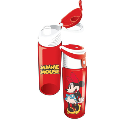 Picture of Disney Cute Minnie Mouse Flip Top Water Bottle