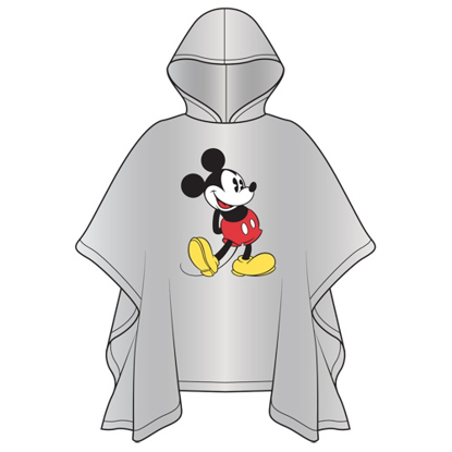 Picture of Disney Adult Classic Mickey Standing Poncho No Namedrop