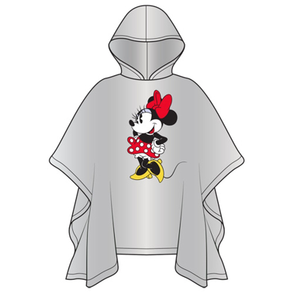 Picture of Disney Adult Classic Minnie Standing Poncho No Namedrop