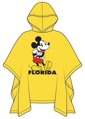 Picture of Disney Youth Hello Mickey Rain Poncho Florida Namedrop