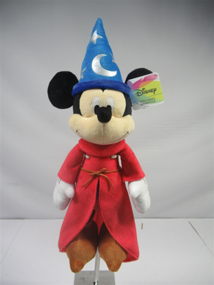 Picture of Disney Sorcerer Mickey Mouse Plush 15 Inch doll