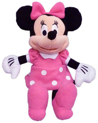 Picture of Disney Minnie Mouse Pink Dress Plush 15 Inch doll