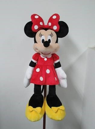 Picture of Disney Minnie Mouse Red Dress Plush 25 Inch doll