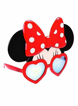 Picture of Disney Minnie Shades Sun stache Sunglasses