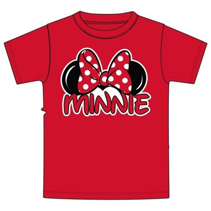 Picture of Plus Size Womens T Shirt Minnie Family Tee Red