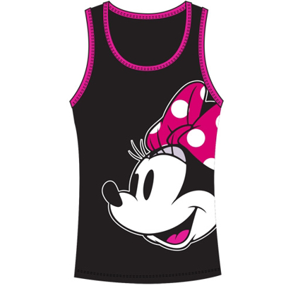 Picture of Disney Junior Tank Top Look At Minnie Black Pink
