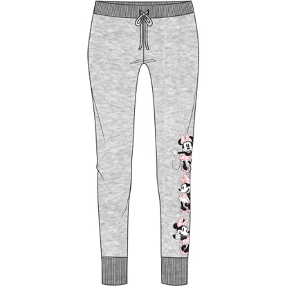 Picture of Disney Junior Athleisure Pant Minnie Expressions Gray Pink