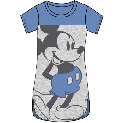Picture of Disney Junior Scoop Neck Tunic Standing Mickey Blue Gray