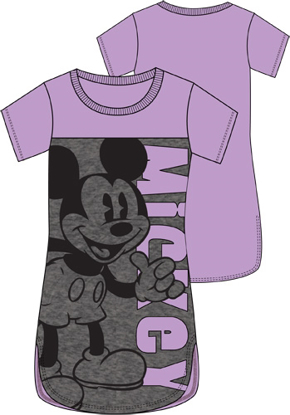 Picture of Disney Junior Scoop Neck Tunic Thumbs Up Mickey