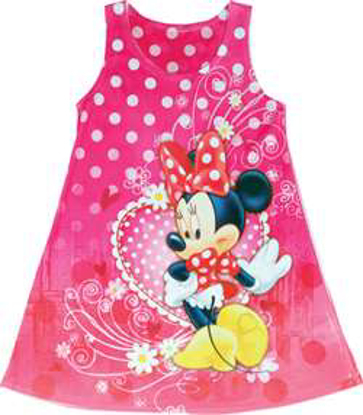 Picture of Disney Girls Sublimated Dress Minnie Mouse Love Heart