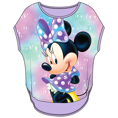 Picture of Disney Youth Girls Sublimated Top Minnie Bubbles Lilac Purple