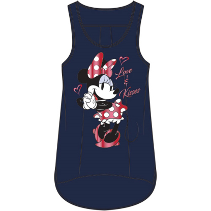 Picture of Disney Plus Size Tank Loving Minnie Navy Blue