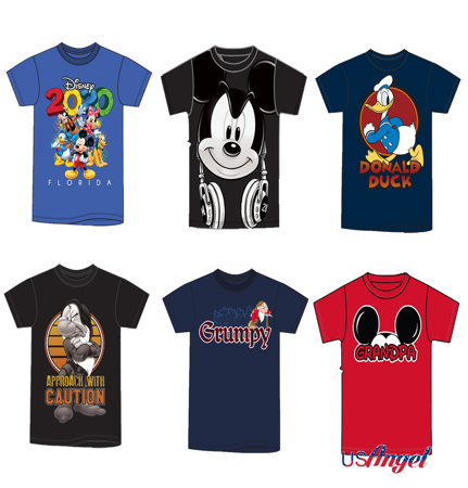 Picture for category Disney Men Basic T-Shirts