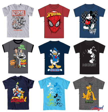 Picture for category Disney Boys Basic T-Shirts