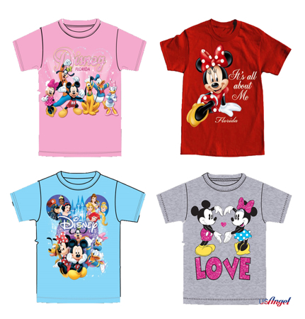 Picture for category Disney Girls Basic T-Shirts