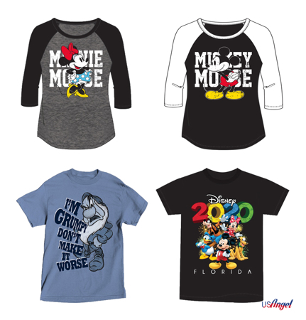 Picture for category Disney Plus Size Basic T-Shirts