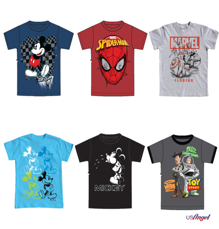 Picture for category Disney Men Basic T-Shirt