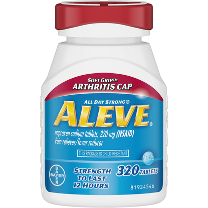Picture of Aleve Pain Reliever Tablets Arthritis Cap 320 ct