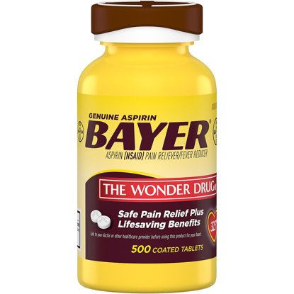 Picture of Bayer Genuine Aspirin 500 ct