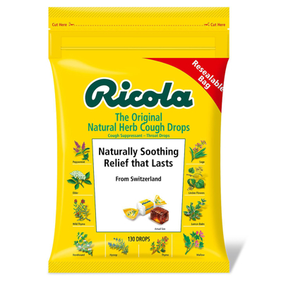 Picture of Ricola Original Natural Herb Cough Drops 130 ct