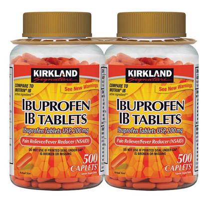 Picture of Kirkland Signature Ibuprofen IB 200 mg 1000 Caplets