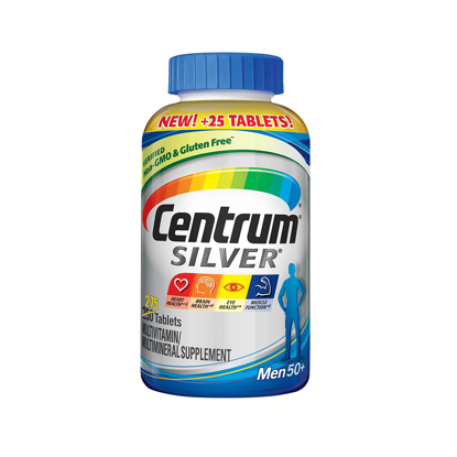 Picture of Centrum Silver Men Multivitamin Tablet Age 50 and Older 275 ct