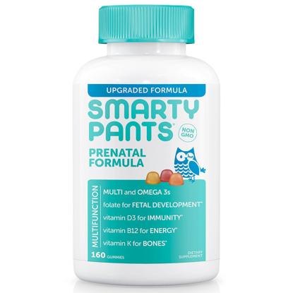 Picture of SmartyPants Prenatal Formula Gummy Multivitamin 160 ct