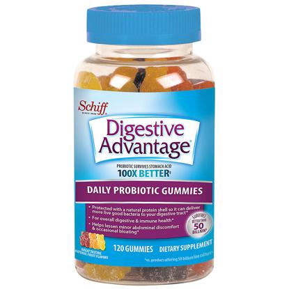 Picture of Digestive Advantage Probiotic Gummies 120 ct