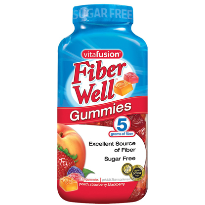 Picture of Vitafusion Fiber Well Gummies 220 ct