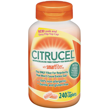 Picture of Citrucel with Smart Fiber Methyl cellulose Fiber Therapy Caplets 240 ct