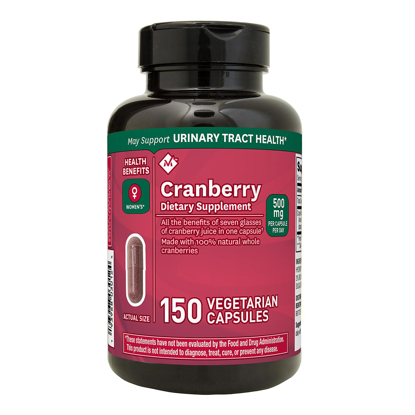 Picture of Members Mark Clinical Strength Cranberry Dietary Supplement 500 mg 150 ct