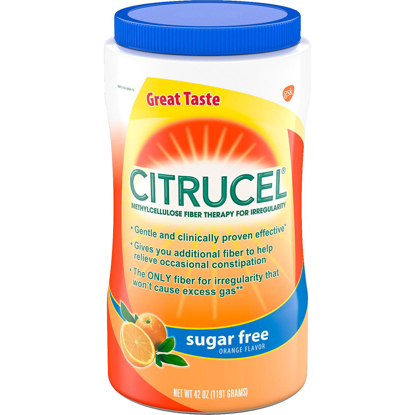 Picture of Citrucel Powder Sugar-Free Orange Flavor Fiber 42 oz