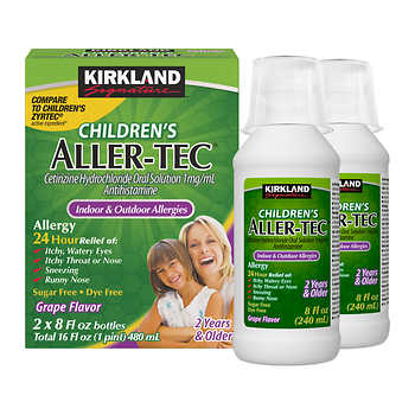 Picture of Kirkland Signature Children's Aller-Tec 16 Ounces