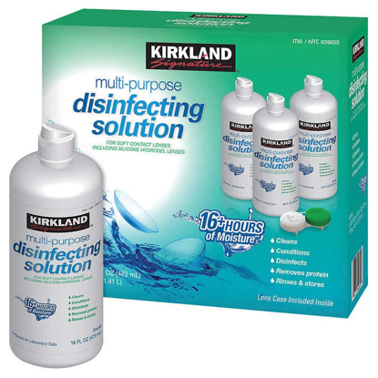 Picture of Kirkland Signature Multi Purpose Disinfecting Solution 48 Ounces