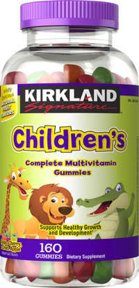 Picture of Kirkland Signature Childrens Complete Multivitamin 320 Gummies
