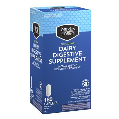 Picture of Berkley Jensen Dairy Digestive Supplement 180 ct