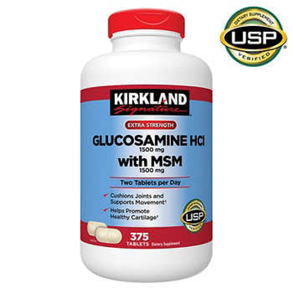 Picture of Kirkland Signature Glucosamine with MSM 375 Tablets