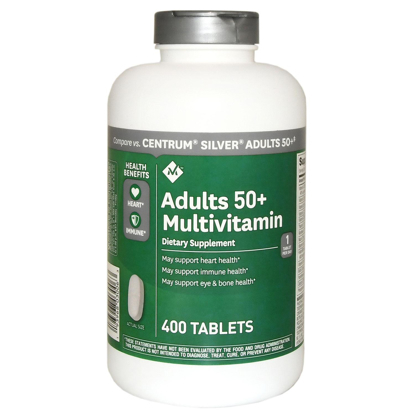 Picture of Member's Mark Adults 50+ Multivitamin  400 Tablets