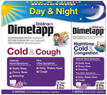 Picture of Dimetapp Children's Cold and Cough Day and Night and Congestion Night 3 pk
