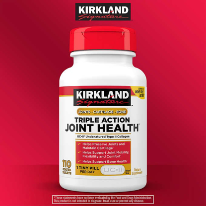 Picture of Kirkland Signature Triple Action Joint Health 110 Coated Tablets