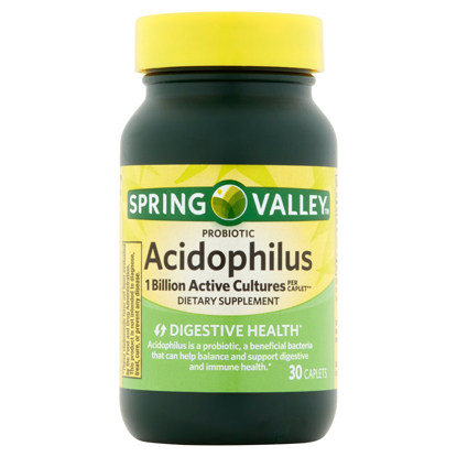 Picture of Spring Valley Acidophilus Probiotic Caplets 5 mg 30 Count