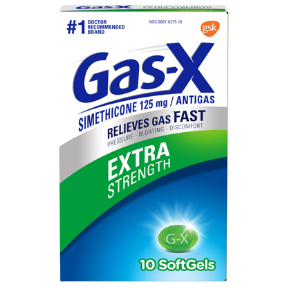 Picture of Gas-X Extra Strength Gas Relief Softgels 10 Count