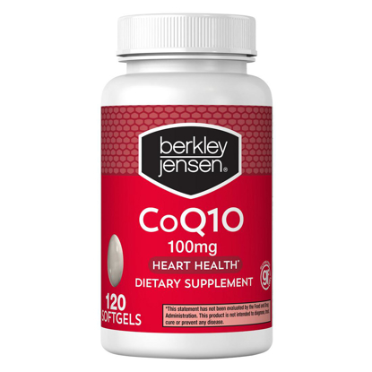 Picture of Berkley Jensen 100 mg CoQ10 Softgels 120 ct