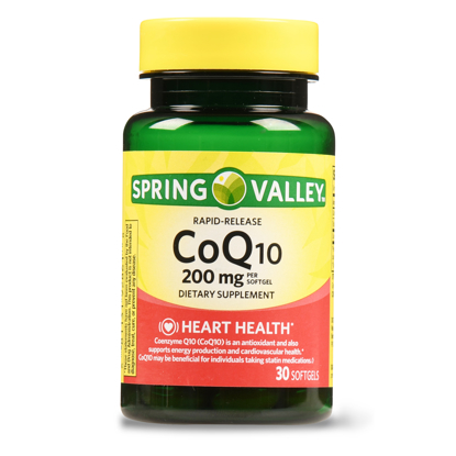 Picture of Spring Valley CoQ10 Rapid Release Softgels 200 mg 30 Ct