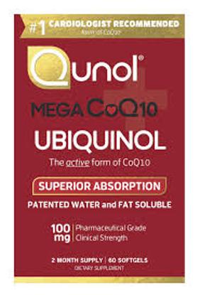 Picture of Qunol MEGA Ubiquinol CoQ10 Softgels 60 ct