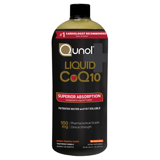 Picture of Qunol Liquid CoQ10 100 mg 30.4 Ounces