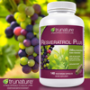 Picture of Trunature Resveratrol Plus 140 Vegetarian Capsules