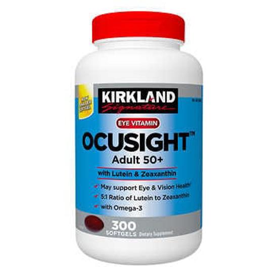 Picture of Kirkland Signature Ocusight Adult 50+ 300 Softgels