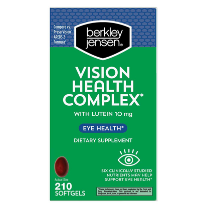 Picture of Berkley Jensen Vision Health Complex Softgels 210 ct