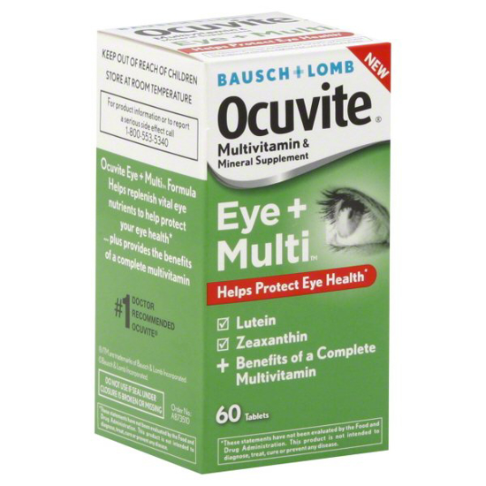 Picture of Bausch & Lomb Ocuvite Eye + Multi 60 ea